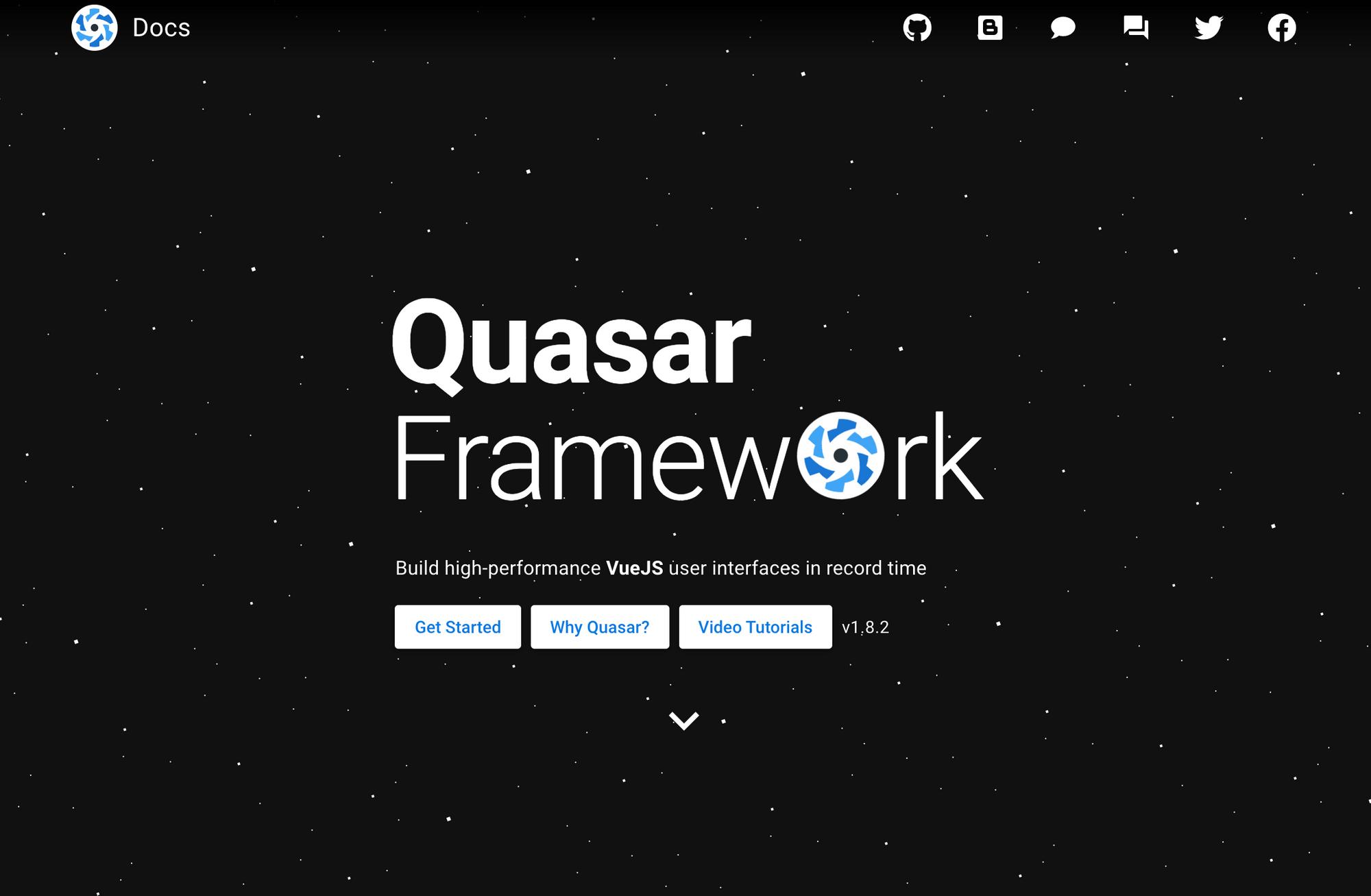 Quasar Framework - VueJS