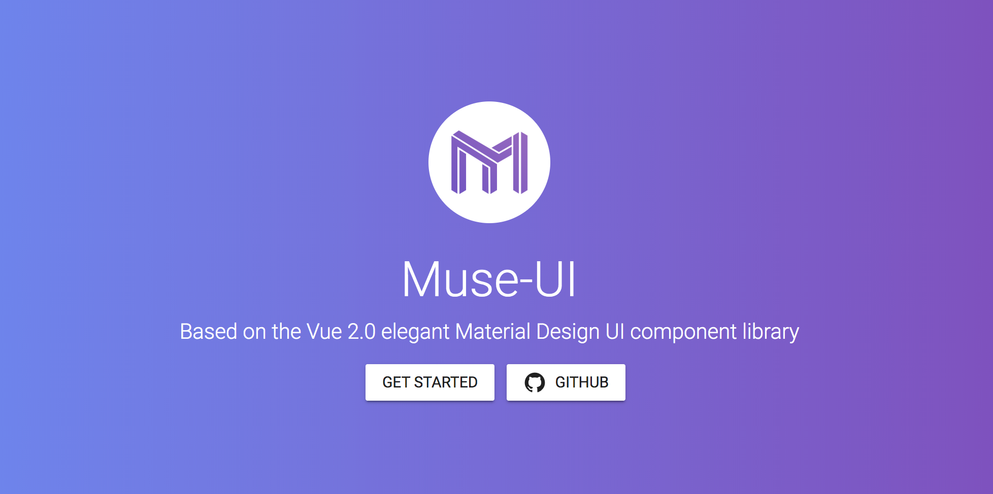 MUSE-UI - VueJS