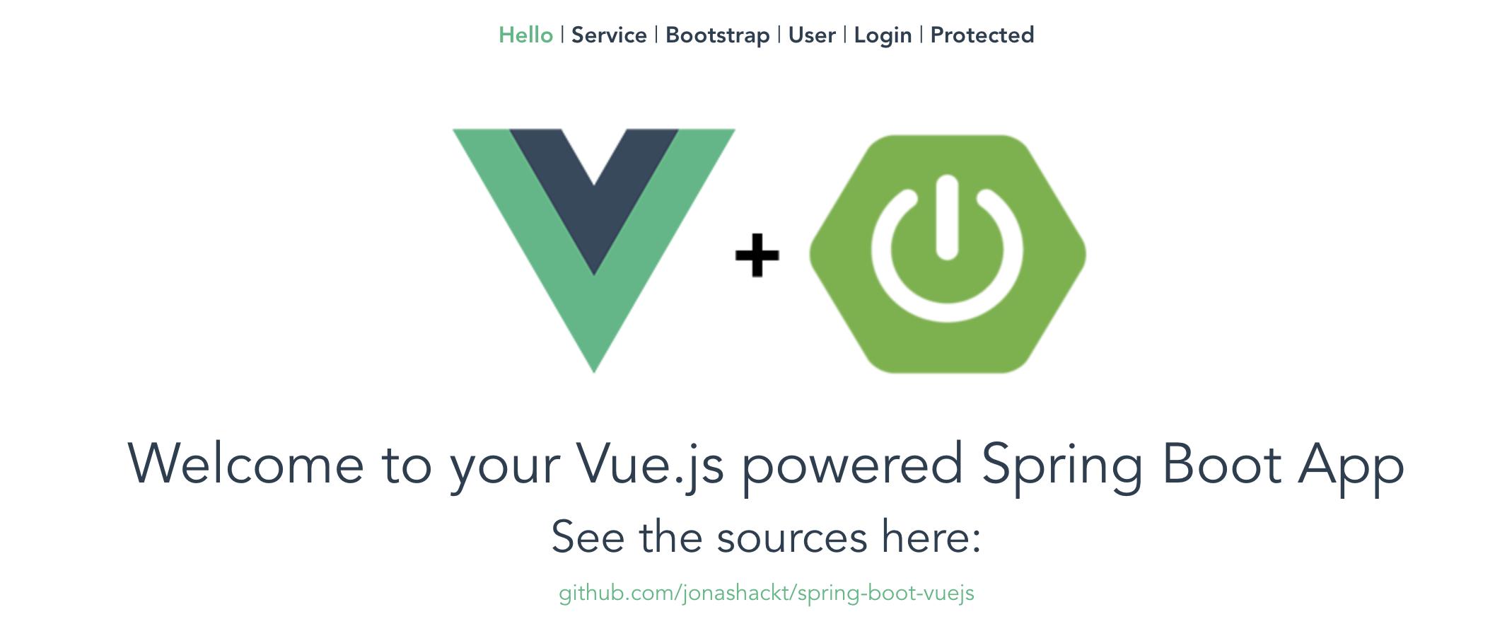 Spring-Boot-Vuejs - VueJS