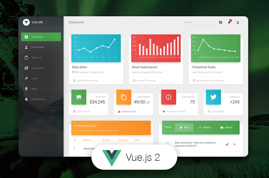 10+ Most Awesome Projects Built with Vue.JS - VueJS