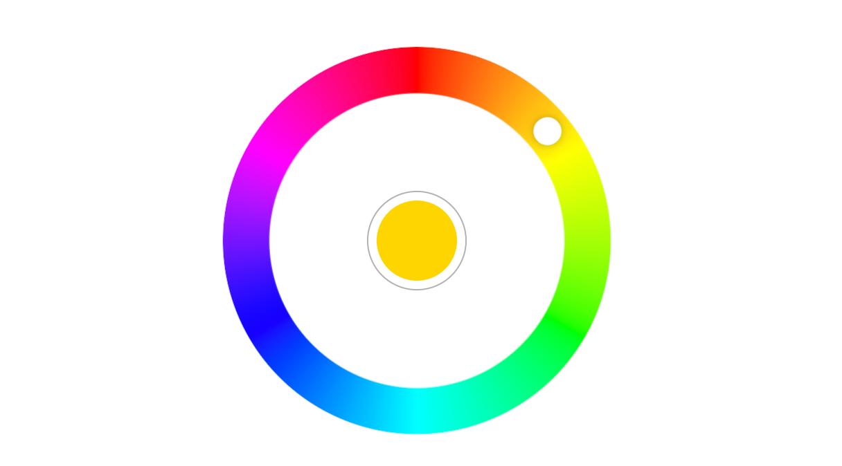 Radial Color Picker - VueJS